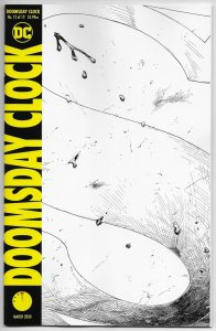 Doomsday Clock #12 | 2nd Printing B&W Variant (DC, 2020)