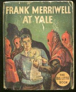 FRANK MERRIWELL-BIG LITTLE BOOK-#1121-1935-AT YALE-HOODED MENACE-good