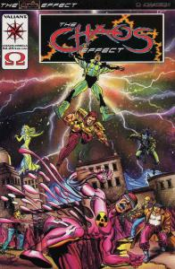 Chaos Effect, The: Omega #1 VF/NM; Valiant | save on shipping - details inside