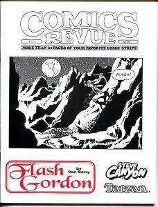 Comics Revue #126 1996-Dan Barry-Flash Gordon-Spider-man-Modesty Blaise-VF