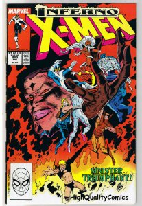 X-MEN #243, VF+, Wolverine, Chris Claremont, Uncanny, more IM in store
