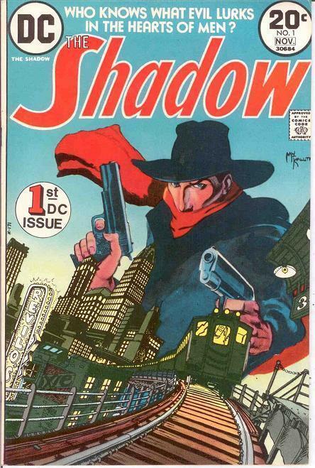 SHADOW (1973) 1 VF+ KALUTA   November 1973 KALUTA COMICS BOOK