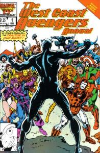 West Coast Avengers (1985 series) Annual #1, NM- (Stock photo)