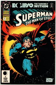 Superman The Man of Steel Annual #1 (DC, 1992) NM-