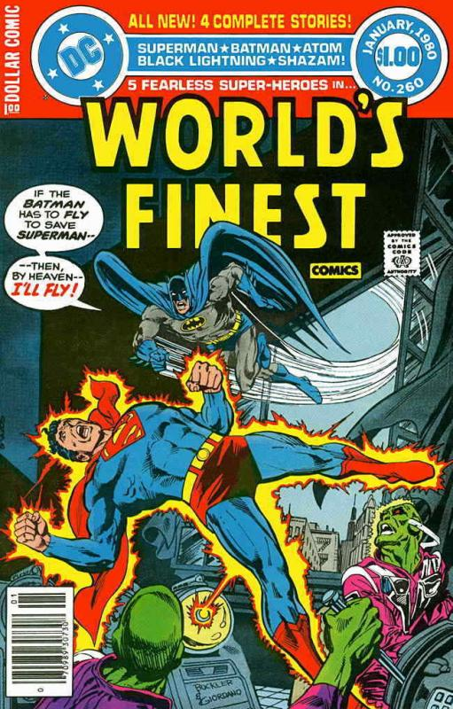 World's Finest Comics #260 VG; DC | low grade comic - save on shipping - details