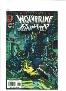 Wolverine/Punisher: Revelation #1 VF+ 8.5 Marvel Comics 1999 Pat Lee