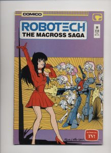 Robotech: The Macross Saga #22 (1987)