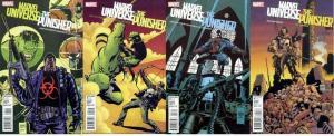 MARVEL UNIVERSE VS PUNISHER (2010) 1-4  COMPLETE! COMICS BOOK