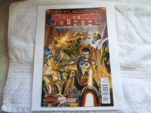 2015 MARVEL COMICS BATTLEWORLD SECERT WARS JOURNAL # 4