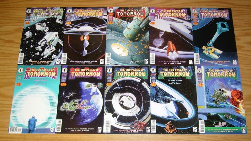 the Two Faces of Tomorrow #1-13 VF/NM complete series - studio proteus manga set
