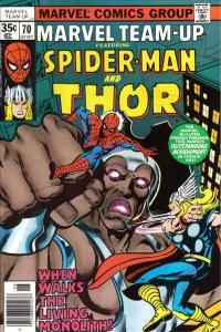 Marvel Team-Up (1972 series) #70, Fine- (Stock photo)