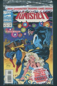 Punisher  Annual #6  / 9.4 NM  Newsstand (Poly Baggged)  1993