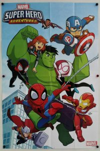 Super Hero Adventure 2018 Folded Promo Poster [P56] (36 x 24) - New!