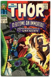 THOR #136, FN+, God of Thunder, Stan Lee, Jack Kirby, 1967, more Thor in store