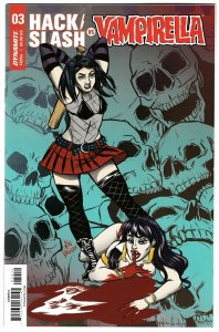 Hack Slash vs Vampirella #3 Cvr A (Dynamite, 2017) NM