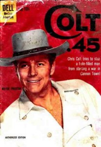 Colt .45 #5 VG; Dell | low grade comic - save on shipping - details inside
