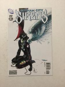 Gotham City Sirens 22 NM Near Mint