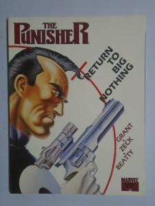 Punisher Return to Big Nothing #1 - GN - 1st First Print - 8.5? - 1989
