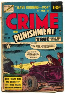 Crime And Punishment #69 1954- REEFER STORY-  G+