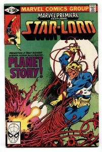 Marvel Premiere #61-1981-Star-Lord-Guardians of the Galaxy-comic book