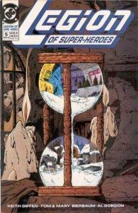 Legion of Super-Heroes (1989 series) #5, NM (Stock photo)