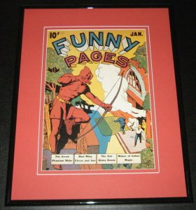 Funny Pages #1 The Arrow Framed Cover Photo Poster 11x14 Official Repro