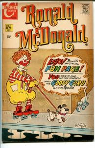 Ronald McDonald #1 1970-Charlton-1st issue-puzzles-games-comics-VG