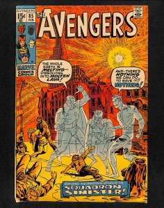 Avengers #85 1st Squadron Supreme!