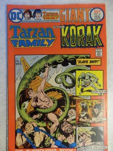 TARZAN FAMILY PRESENTS KORAK # 61 DC BRONZE JUNGLE ACTION KUBERT BURROUGHS