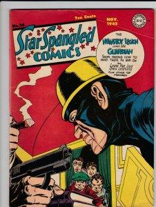 Star Spangled Comics 26 VG (Nov. 1943)