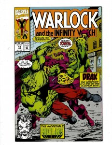 Lot of 12 Warlock Marvel Comic Books #13 14 15 16 17 18 19 20 21 22 23 24 GK48