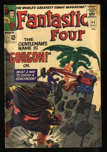 Fantastic Four #44 VG 4.0 1st Gorgon!