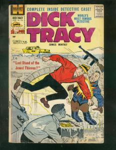 DICK TRACY #134 1959-CHESTER GOULD-HARVEY COMICS-COLD!! G/VG