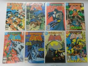 Detective Comics lot 39 different issues (1985-89) 6.0 FN