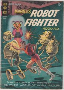 Magnus Robot Fighter #15 (Aug-66) VG Affordable-Grade Magnus Robot Fighter