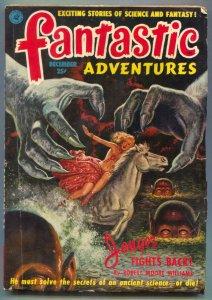 Fantastic Adventures Pulp December 1951- Jongor Fights Back VG+