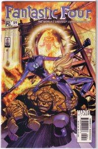 Fantastic Four (vol. 3, 1998) #59/488 FN Adam Warren/Keron Grant