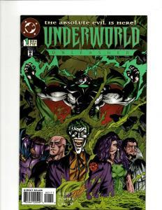 12 DC Comics Underworld # 1 2 3 Starman # 1 Superboy # 1 2 3 4 5 6 7 8  GK22