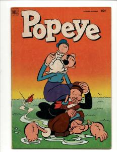 Popeye # 22 VF Gold Key Silver Age Comic Book Olive Oil Cartoon Spinach J371