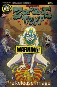 ZOMBIE TRAMP ONGOING (2014 DANGER ZONE) #73 VARIANT CVR F HUANG RI PRESALE-09/09