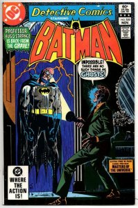 DETECTIVE #520, VF, Batman, Master of the Universe Preview, 1937 1982, more BM i