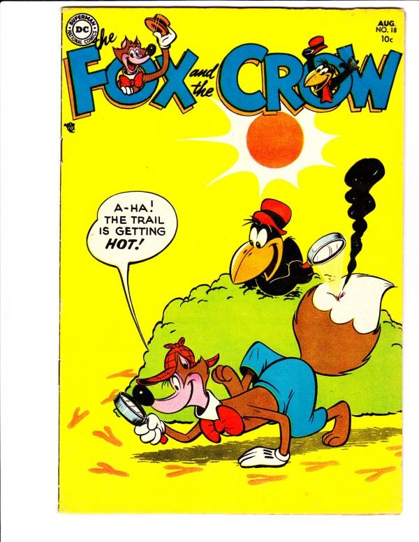 Fox and the Crow, The #18 (Aug-54) FN/VF Mid-High-Grade Fox and Crow
