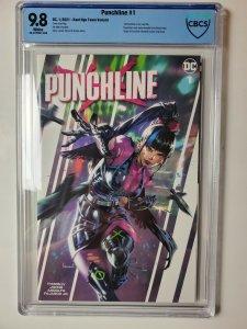 Punchline #1 CGC 9.8 Kael Ngu Team Variant
