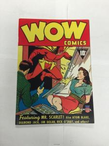 Don Maris Reprint: Wow Comics #1 (1940/1975) #1 Nm Near Mint