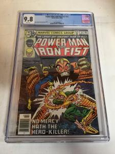 Power Man And Iron Fist 53 Cgc 9.8 Chris Claremont Ed Hannigan Story