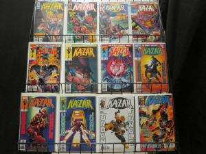 KAZAR (1997) 1-20,Annual 1  MARK WAID & KUBERT KUBERT