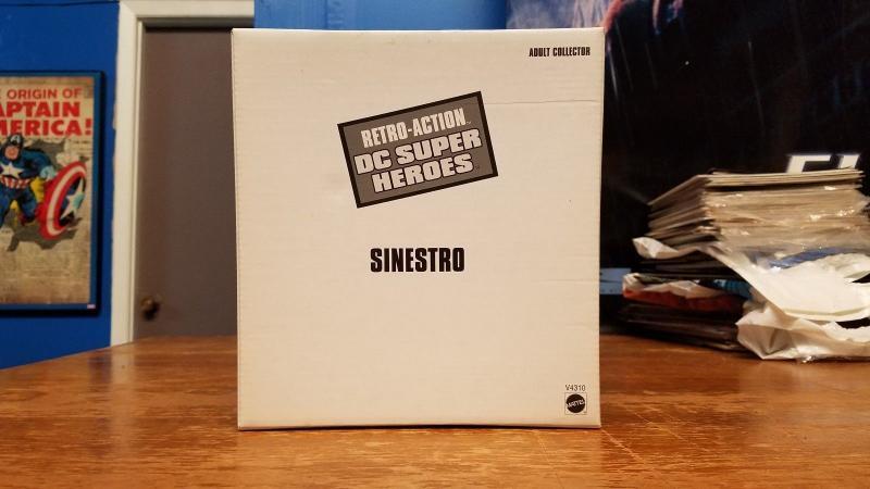 Sinestro Retro-Action DC Super Heroes SEALED Green Lantern Figurine TB1
