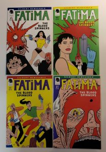 FATIMA THE BLOOD SPINNERS #1-4 COMPLETE SET DARK HORSE NM