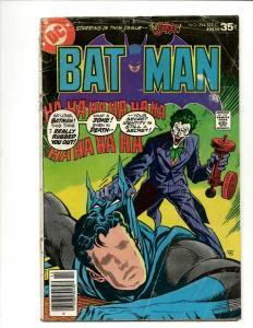 Batman # 294 GD DC Bronze Age Comic Book Joker Robin Catwoman Penguin J371