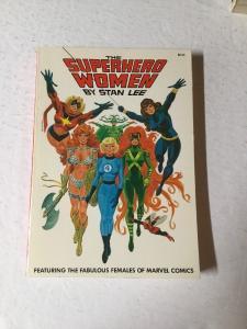 The Superhero Women By Stan Lee Fireside TPB Near Mint Nm 9.4 Or Better